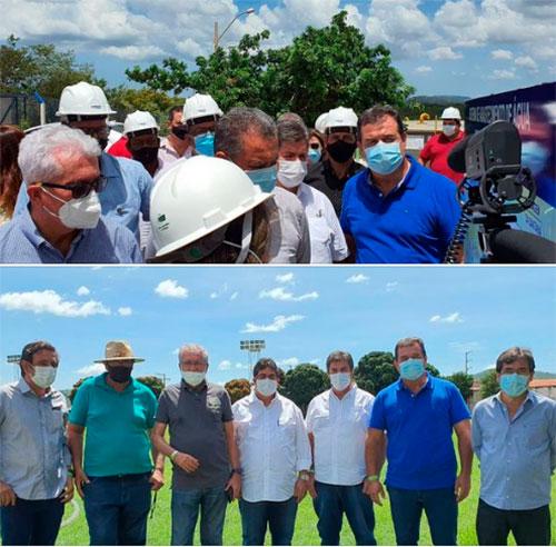Deputado Marquinho Viana acompanha o governador Rui Costa em Riacho de Santana
