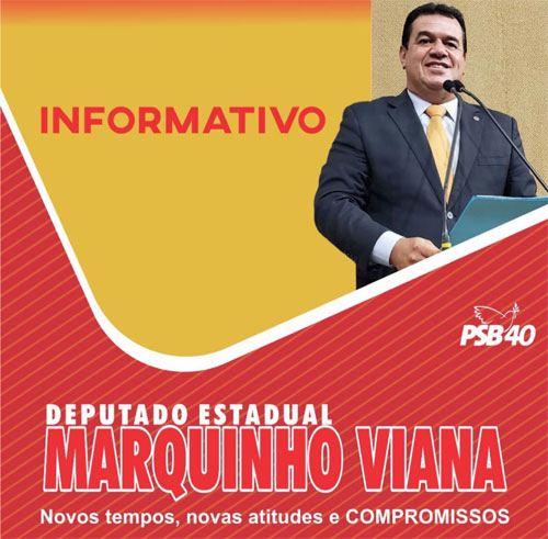 Deputado estadual Marquinho Viana destaca ações realizadas diante da pandemia da Covid-19