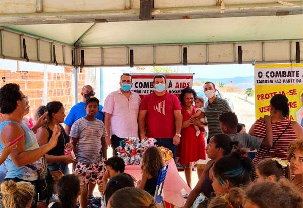 Deputado Marquinho Viana participa de ação em benefício da saúde em Ituaçu