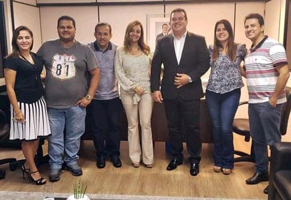 Deputado Marquinho Viana e prefeitos levam demandas à SERIN