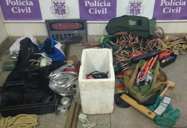 Brumado: Polícia Civil recupera bens furtados e detém três suspeitos
