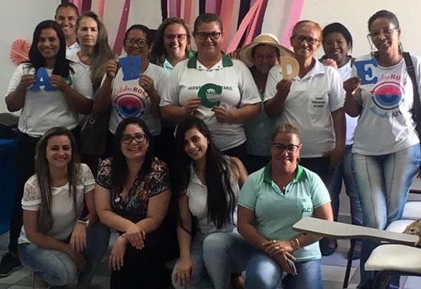 Brumado: grupo para Matriciamento de Agentes Comunitários de Saúde se reuniu no auditório da UBS São Félix