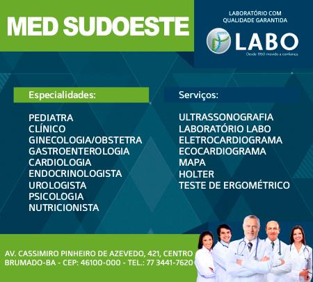 Brumado  Confira as especialidades médicas e serviços de diagnóstico da  Clínica MED Sudoeste 6a1bf5e0e7