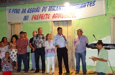 BONFIM PARTICIPA DE INAUGURAÇÃO EM COMUNIDADES BRUMADENSES