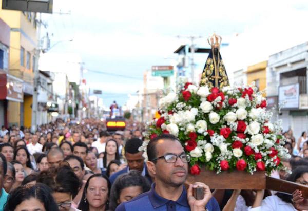 Fiéis celebraram Nossa Senhora Aparecida em Brumado