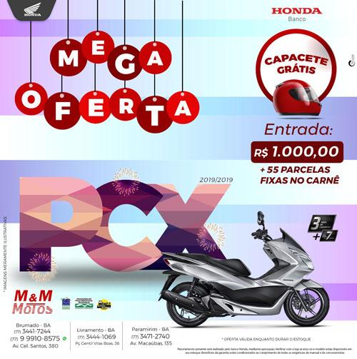 Confira a mega oferta da M & M Motos