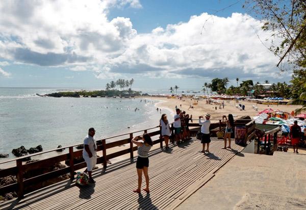 Ocupação hoteleira alcança média de 90% em zonas turísticas da Bahia no feriadão