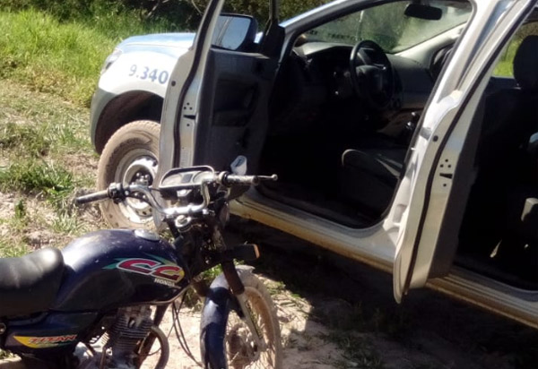 Barra da Estiva: Polícia Militar recupera moto roubada