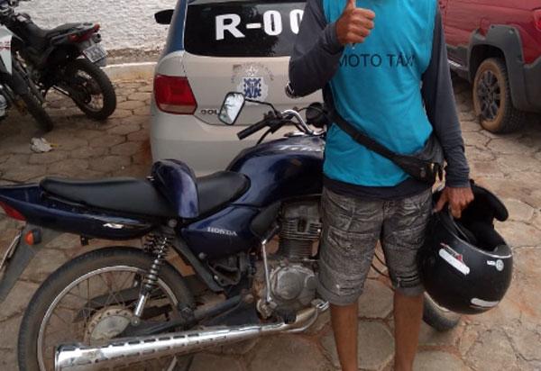 Polícia Civil localiza motocicleta furtada no centro de Livramento, 48 horas após crime