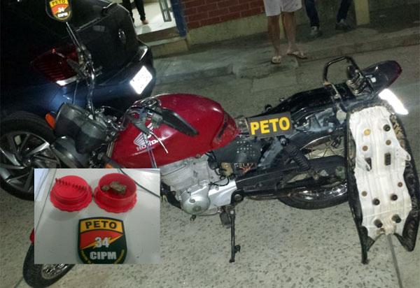 Brumado: moto furtada dentro da 18ª Ciretran é recuperada pela Polícia Militar
