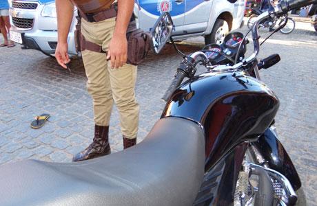Brumado: Moto usada em assalto a lotérica era roubada