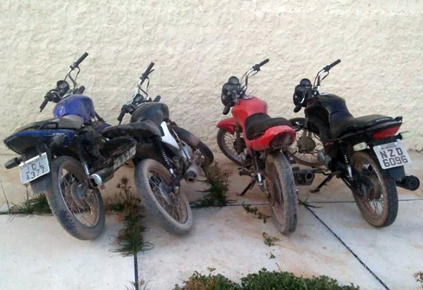 Ituaçu: Polícia Civil recupera motocicletas com restrição de furto/roubo