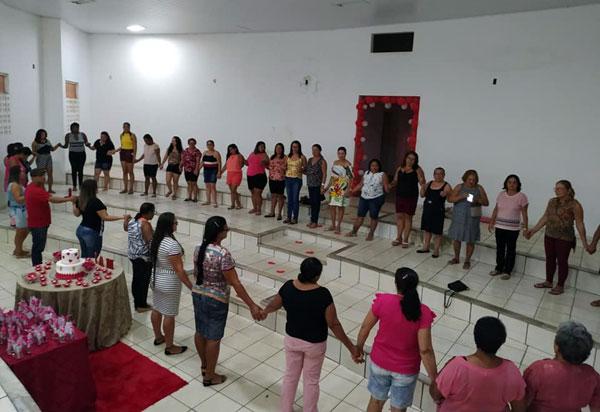 Aracatu: Dia das Mães é comemorado com os grupos de atividades físicas NASF, Corpo, Mente e Movimento e o grupo Vida e Saúde