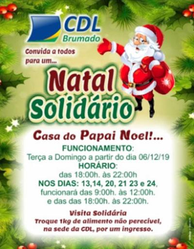 Abertura oficial do Natal Encantado da CDL de Brumado acontece dia 06 de dezembro