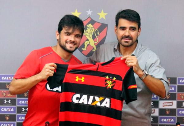 Sport Clube do Recife: Lateral-direito Norberto é apresentado à imprensa