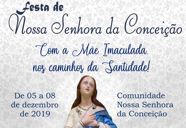 Brumado: festividade celebrará Nossa Senhora da Conceição