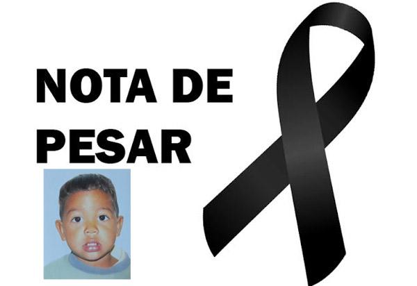 Brumado: Secretaria de Educação divulga nota de pesar pela morte do menino Vítor Maciel