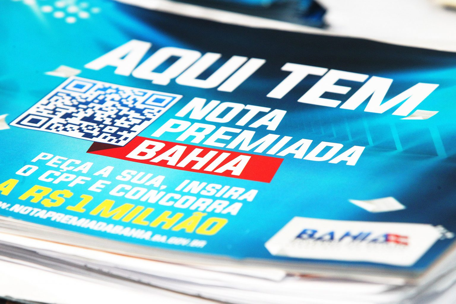 Nota Premiada Bahia contempla 02 moradores de Brumado