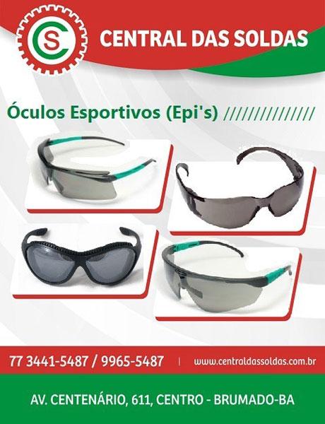 6e50e3752bed2 Central das Soldas - Óculos Esportivos (Epi s)