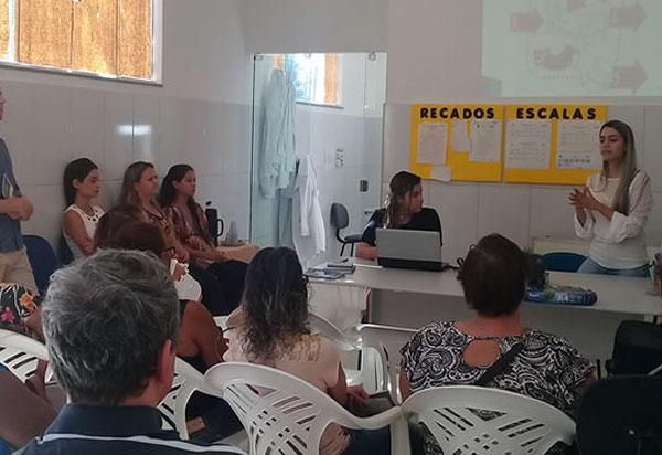 Brumado: Equipe do Melhor em Casa realiza oficina pedagógica para cuidadores