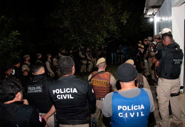 Operação combate grupos criminosos na Chapada