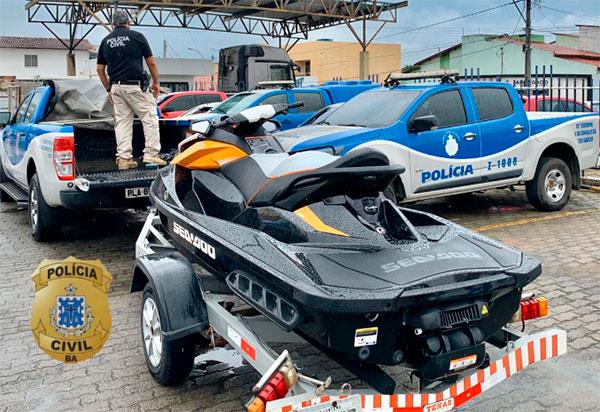 Polícia Civil cumpre vários mandados de busca e prisão contra integrantes de uma organização criminosa que atua na região Sudoeste