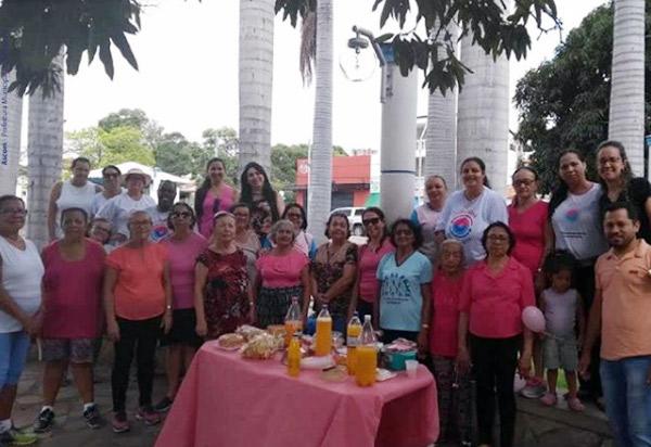 Brumado: NASF e UBS Newton Alves de Castro realizam atividades da campanha Outubro Rosa