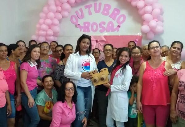 Brumado: UBS Raimundo Fernandes Santos realizou atividades do 'Outubro Rosa'