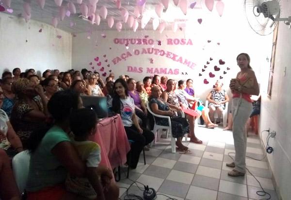 Brumado: Dia ´D´ Outubro Rosa foi realizado na UBS Arlindo Magno Stanchi