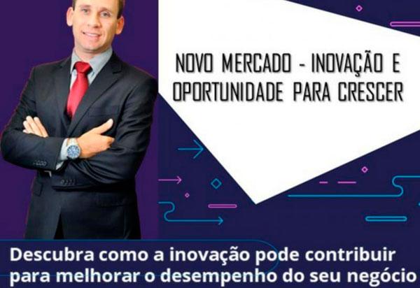 Palestra 'Descubra como a inovação pode contribuir para melhorar o desempenho do seu negócio' será realizada em Brumado
