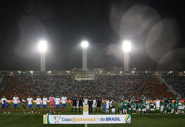 Bahia perde do Palmeiras e deixa a Copa do Brasil