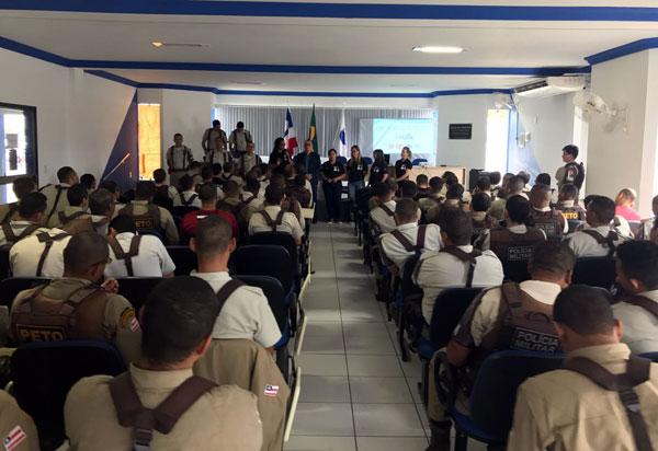 34ª CIPM promoveu Parada Militar e duas palestras  para o efetivo da unidade