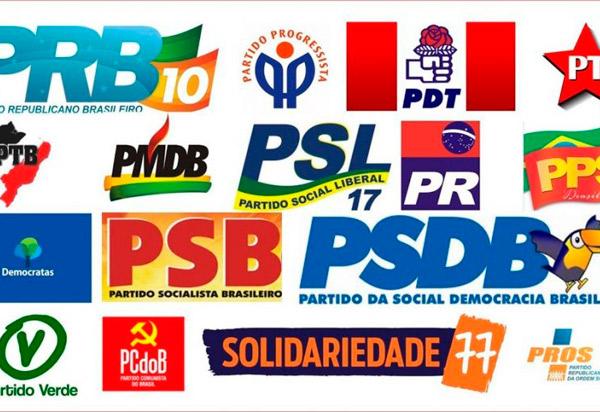 Partidos têm até 28 de junho para constituir diretórios estaduais e municipais definitivos