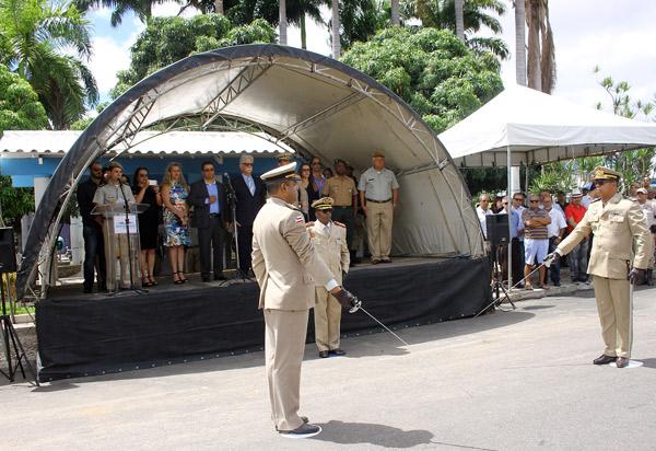Solenidade marca passagem de comando da 34ª CIPM em Brumado