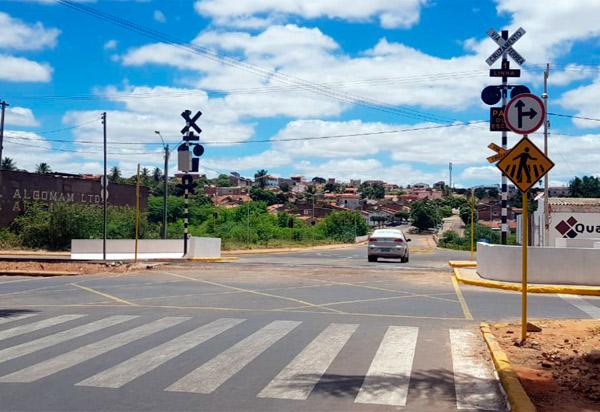Brumado: trânsito na passagem da linha férrea próximo à UNEB foi liberado na última sexta (25)