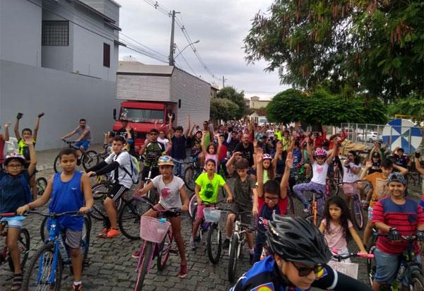 Brumado: Beto Bike promoveu o 1º Passeio Kids