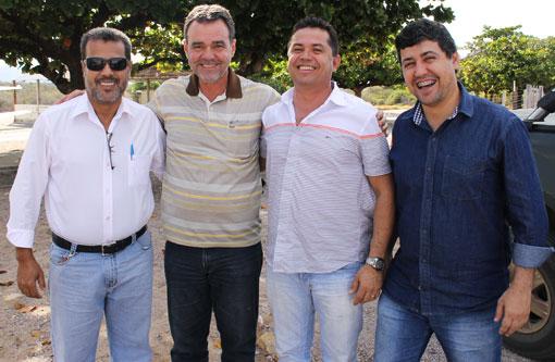 Eleições 2014: Pré-candidatura de Daniel Almeida e Aldenes Meira recebem apoio de Agno e Édio
