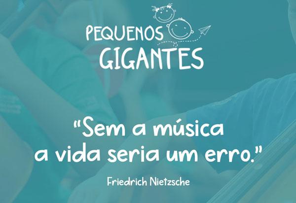 ONG Jardim das Borboletas lança projeto social de formação musical, reforço escolar e inglês