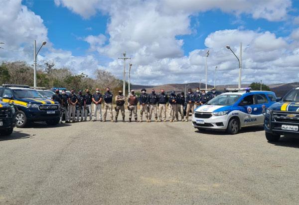 No Sudeste da Bahia, PRF, PC e PM realizam mais uma etapa da Operação Kapro e apreendem veículos irregulares