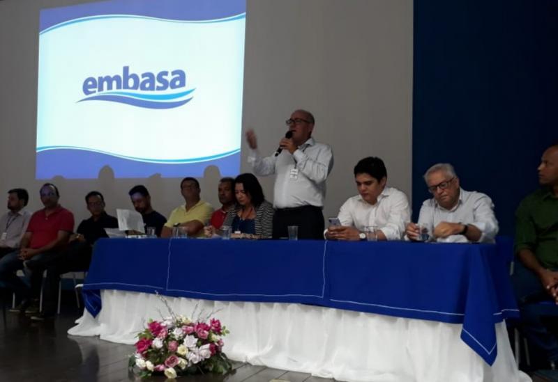 Embasa realizou em Brumado de Consulta Pública como objetivo apresentar o projeto básico de implantação do Sistema de Esgotamento Sanitário do município
