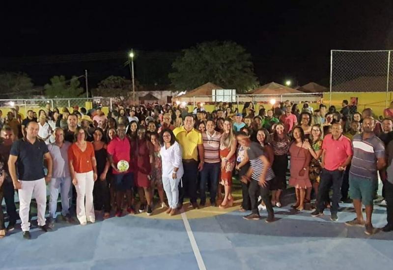 Deputado Marquinho Viana participa de inaugurações em Rio de Contas