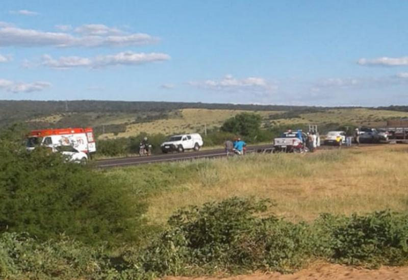 Brumado: Idoso morre atropelado por caminhão na BA-262, próximo a entrada da comunidade de Formosa