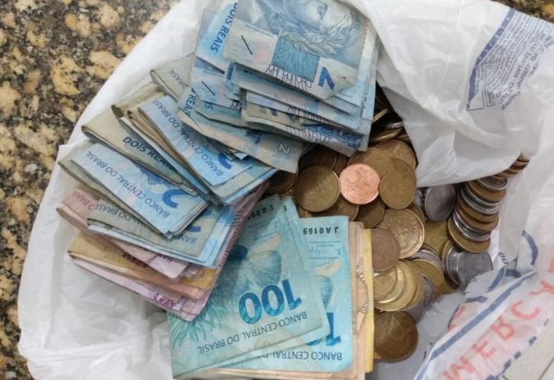 Conquista: Três presos com dinheiro proveniente do tráfico de drogas