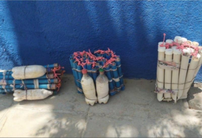 Vinte e sete quilos de explosivos encontrados em Rio de Pires