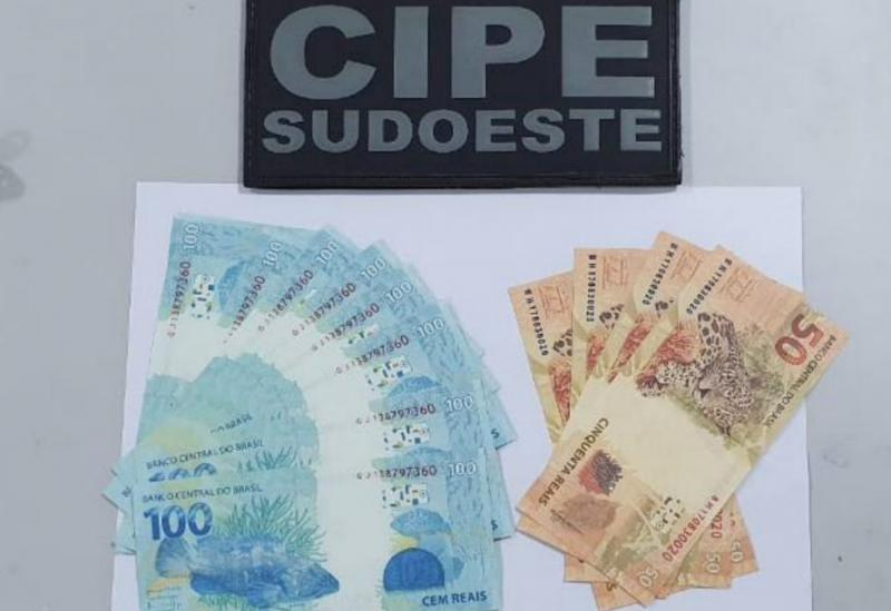 Homem é preso em Botuporã acusado de distribuição e compra de células falsas de dinheiro