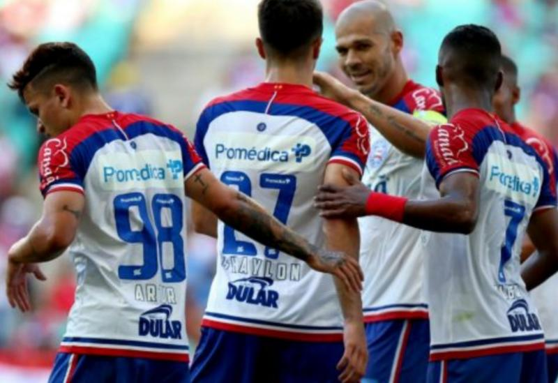 Bahia vence o Jacobina pelo Campeonato Baiano