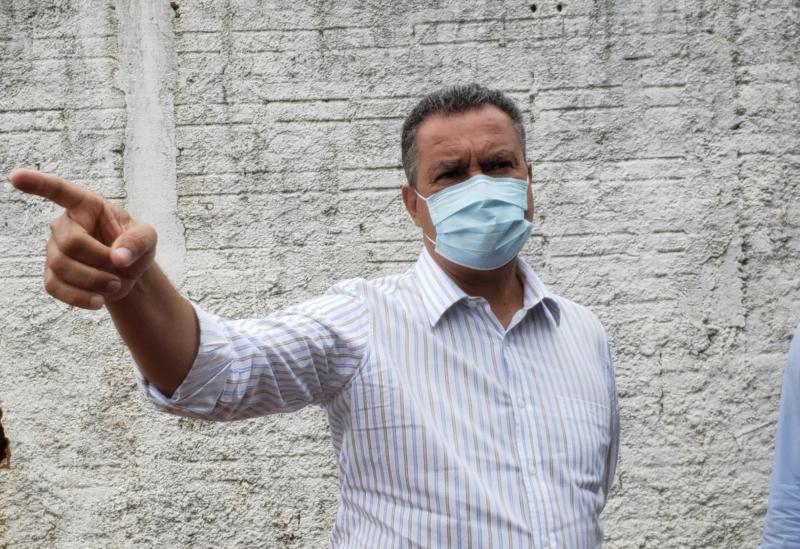 Governador Rui Costa amplia toque de recolher na Bahia