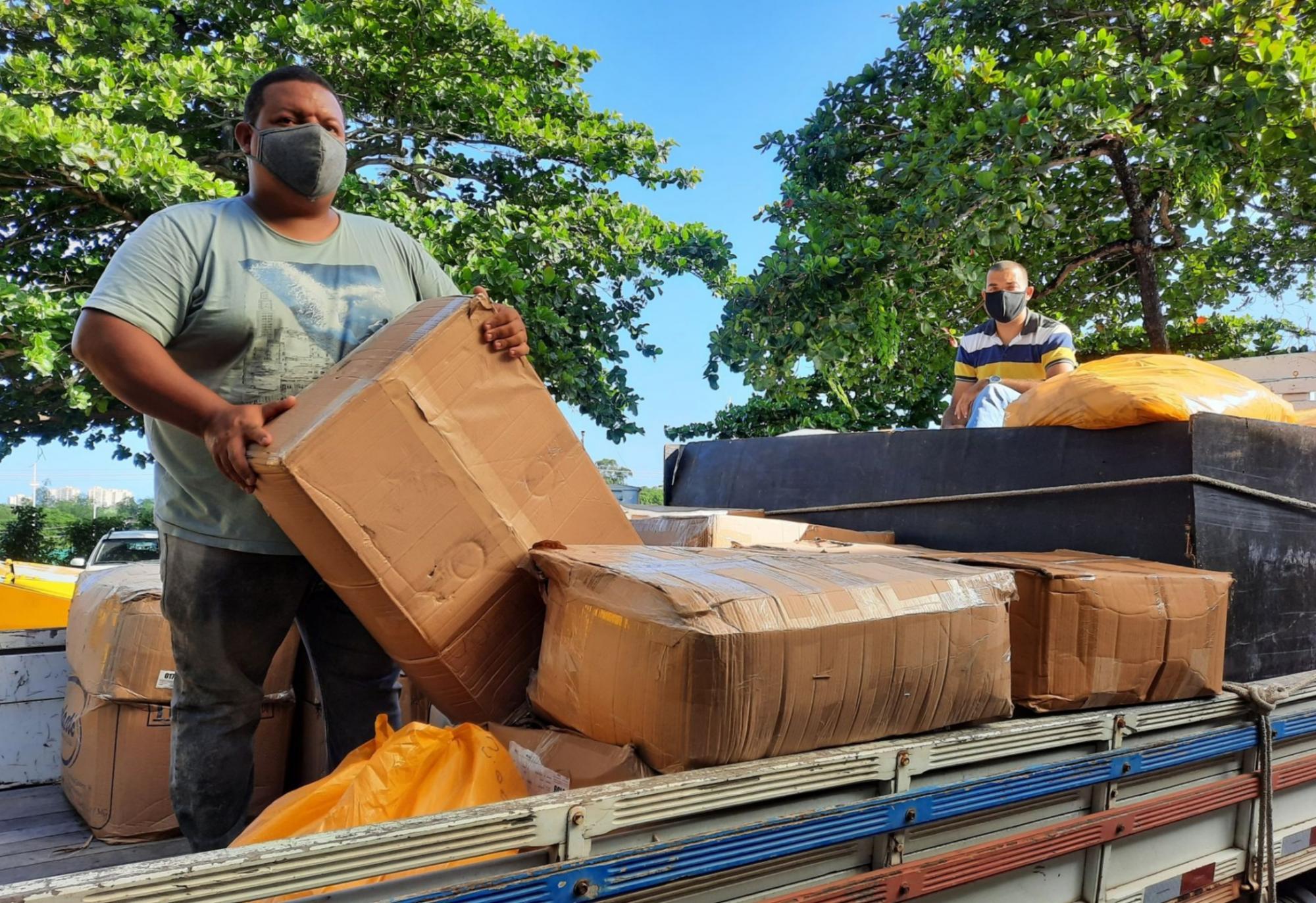 Governo do Estado entrega máscaras para municípios da Região Sudoeste