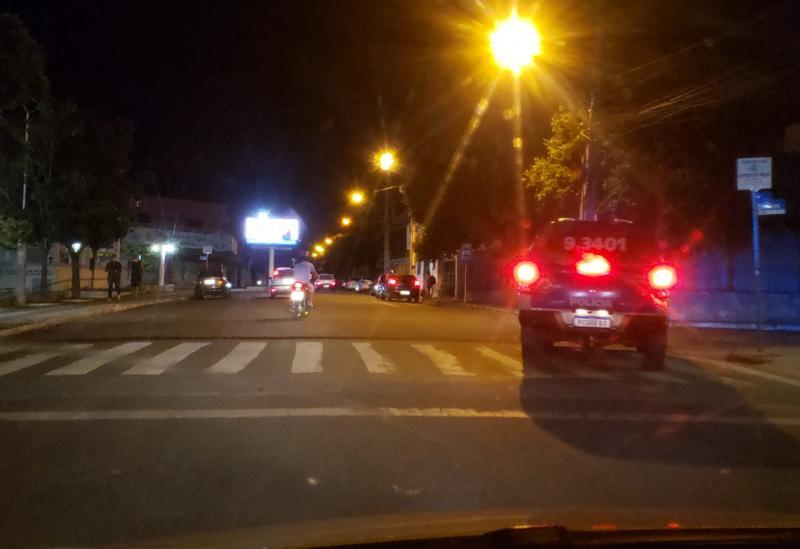 Uma pessoa é  flagrada desrespeitando toque de recolher na última noite em Brumado