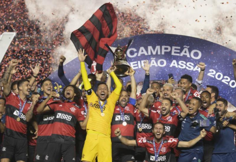 Flamengo é o campeão do Brasileiro de 2020